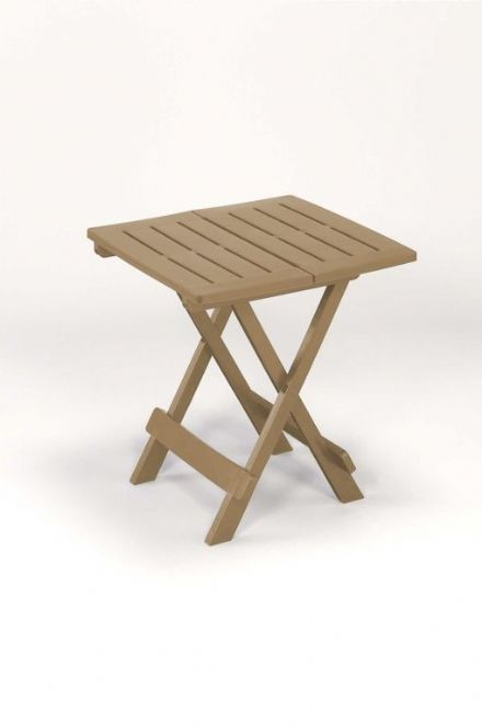 SupaGarden Folding Camping Table - Taupe
